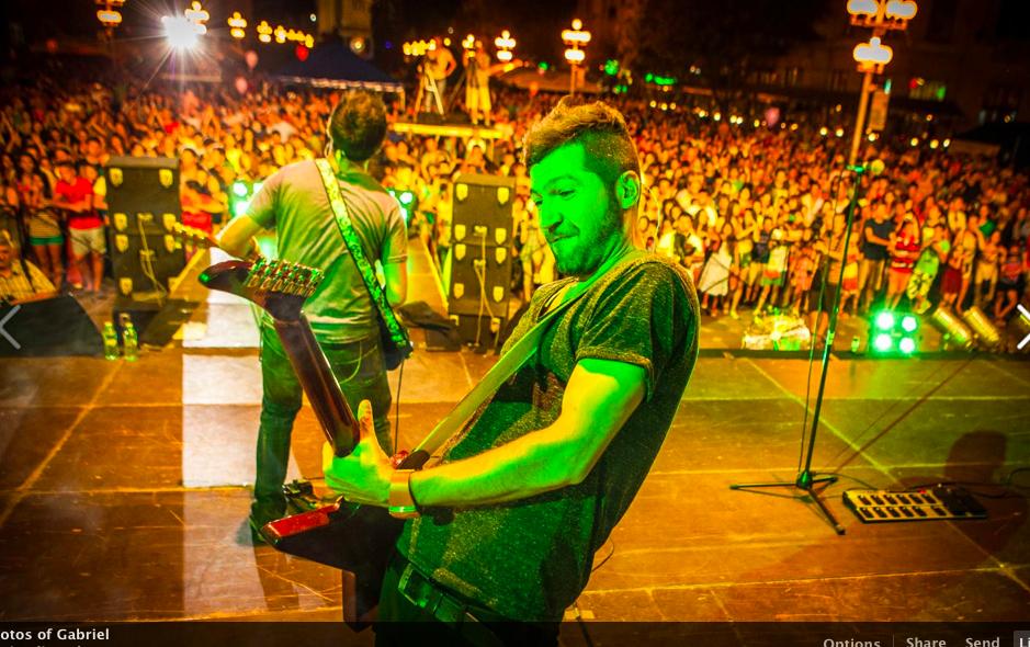 Gabriel Maga: Cand o sa ma fac mare o sa fiu chitarist!